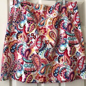 Beautiful Talbots paisley skirt